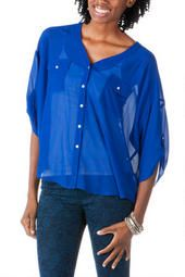 Hattieville Button Down Blouse