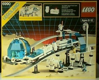 Lego Monorail Transport system