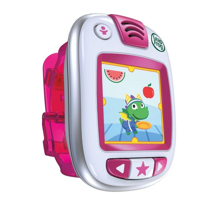 LEAPFROG - LEAPBAND. Combining exercise and fun, kids can earn energy points, then unlock rewards for being active, caring for a pet pal and completing challenges on LeapBand.