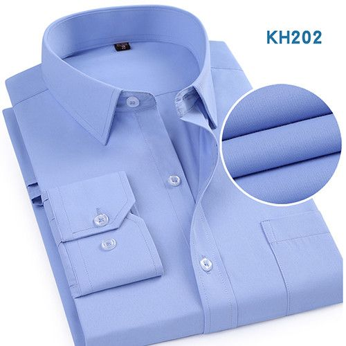 menu0027s solid plaintwill business dress shirt with left chest pocket long sleeve slim