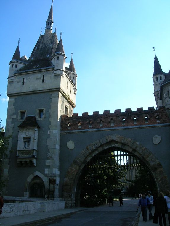 Casttle of Vajdahunyad Budapest