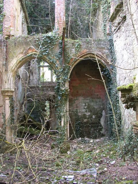 Tegfynydd, victorian mansion in Pembrokeshire - Derelict Places