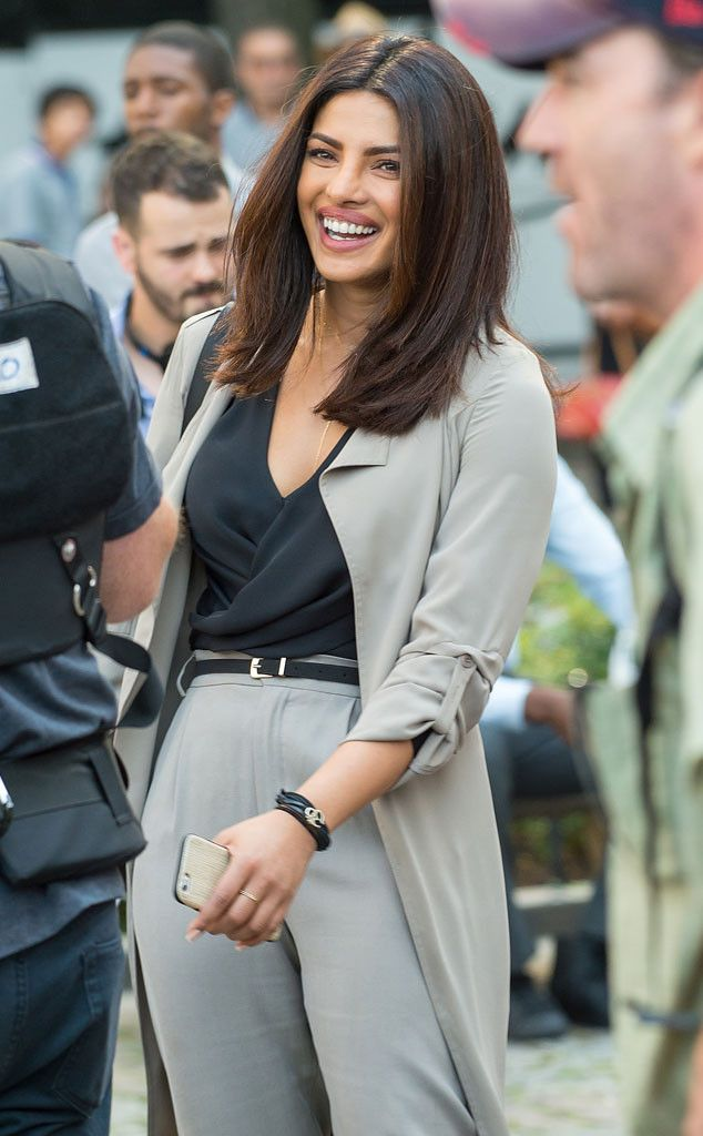 Priyanka Chopra from The Big Picture: Today's Hot Pics  The Quantico actress is spotted enjoying her time on set in midtown, New York City.
