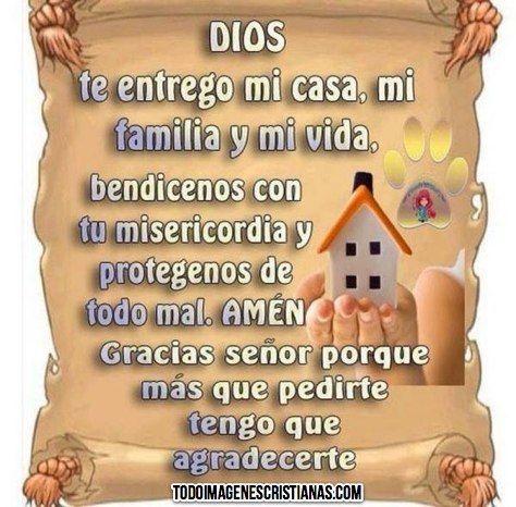 Oracion para bendecir el hogar y la familia buscar con - Con las manos en tu casa ...