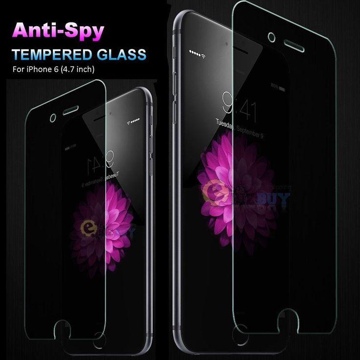"Anti-Spy Peeping Tempered Glass Screen Protector for Apple 4.7"" iPhone 6s / 6  #iPhone #iPhoneProtector #iPhoneScreen #screenprotector"