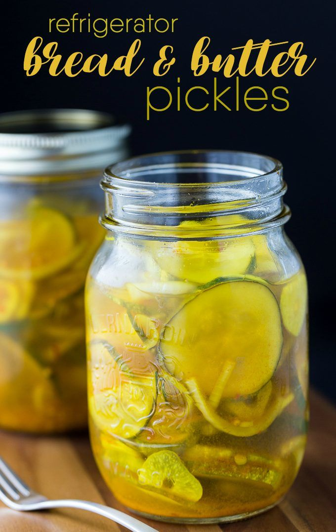 Bread & Butter Refrigerator Pickles - Making pickles couldn't be any ...
