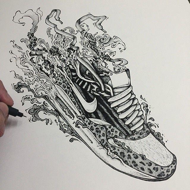 sneaker drawing tumblr google search cool drawings