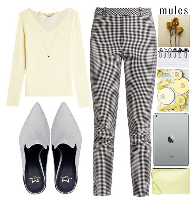 Slip 'Em On:Mules by grozdana-v on Polyvore featuring polyvore fashion style 81 Hours Altuzarra Dorothy Perkins Peace Love World clothing