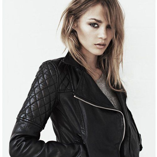 New spring leather jackets at AllSaints | Clothes + Looks I like | Pi