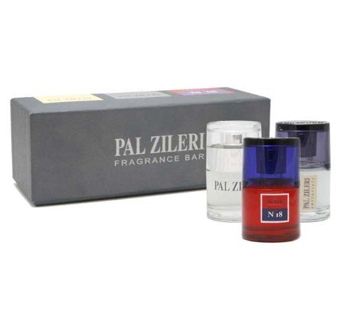 Pal Zileri Collection By Pal Zileri For Men. Gift Set ( Contains Eau De Toilette Spray 1.0 Oz / 30 Ml Each Of Pal Zileri + Pal Zileri Sartoriale + Concept N 18 ) by Pal Zileri. Save 64 Off!. $42.99. Packaging for this product may vary from that shown in the image above. Pal Zileri Collection Cologne Gift Set (Contains Eau De Toilette Spray 1.0 Oz / 30 Ml Each Of Pal Zileri + Pal Zileri Sartoriale + Concept N 18) for Men by Pal Zileri.