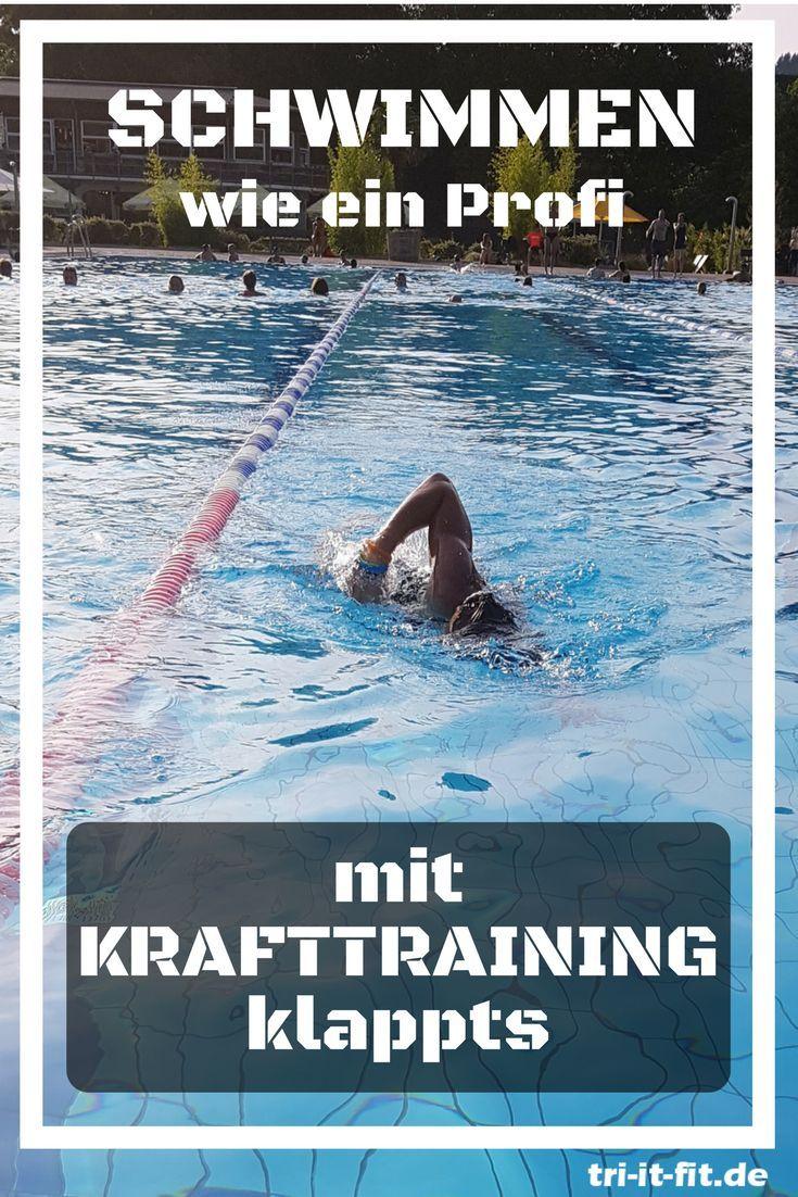 krafttraining schwimmen zu hause