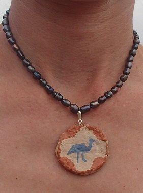Australian design freshwater pearl necklance Paper by SortThePost, $40.00