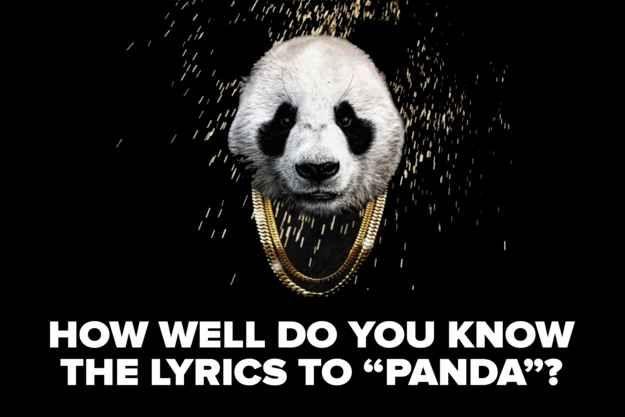 Can You Rap All The Lyrics To Panda Desiigner Panda Panda The Wiz