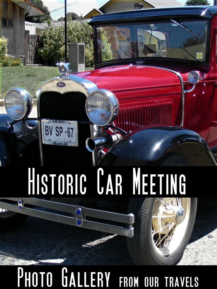 What a nice surprise: you travel on a Sunday, drive into an unknown town and end up in the middle of a historic car meet! A gallery post from Chile. #historiccar #historicvehicle #oldtimer #collectors