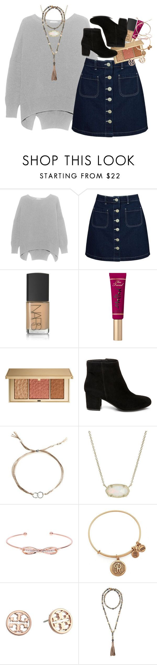 """is it bad that I have polariods all over my room?¿"" by ellaswiftie13 on Polyvore featuring Miss Selfridge, NARS Cosmetics, Estée Lauder, Steve Madden, Dogeared, Kendra Scott, Ted Baker, Alex and Ani, Tory Burch and Hipchik"
