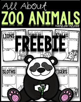 "ZOO ANIMALS FREEBIE! All About TIGERS organizers and writing paper!.....Follow for ""too-neat-not-to-keep"" teaching tools & other fun FREE teaching stuff :)"