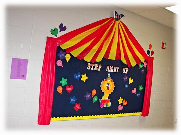 Circus Classroom Decorations ~ Best ideas about circus bulletin boards on pinterest
