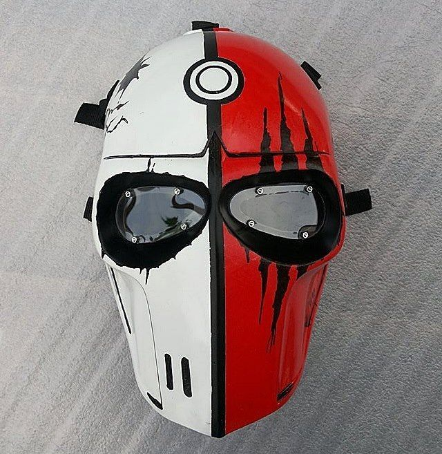 POKEMON MASK ARMY OF TWO PAINTBALL AIRSOFT BBs GUN AIRSOFT COSPLAY #APACHE