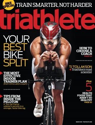 2012 Triathlete Magazine Covers