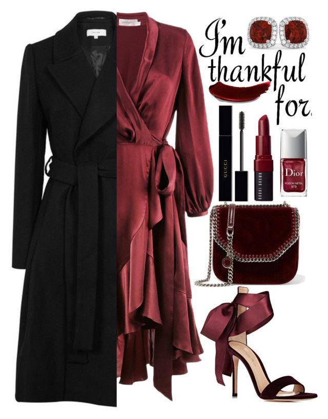 """""""Thanksgiving Day"""" by mihai-theodora ❤ liked on Polyvore featuring Zimmermann, Gianvito Rossi, STELLA McCARTNEY, Christian Dior, Allurez, Gucci and Bobbi Brown Cosmetics"""