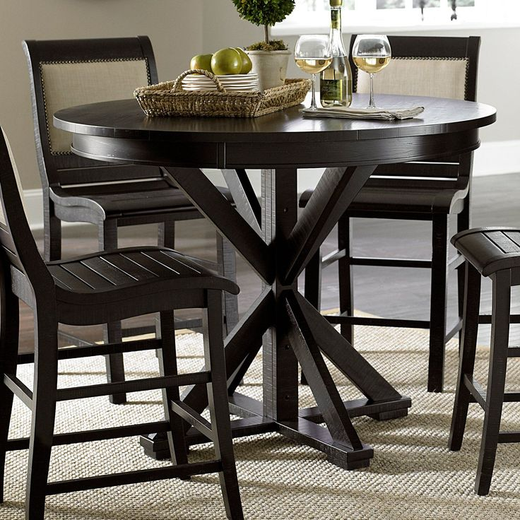 Best 25 Round Counter Height Table Ideas On Pinterest Interesting Willow Dining Room Menu Decorating Design