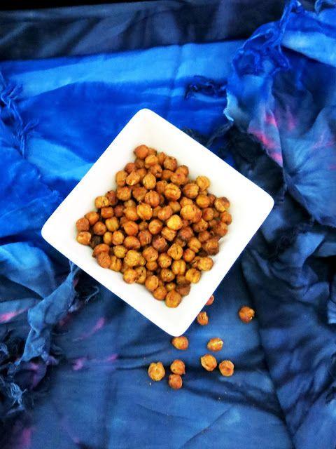 Antipastaa: Paahdetut kikherneet (munaton, maidoton, gluteeniton, sokeriton, hiivaton, vegaaninen)