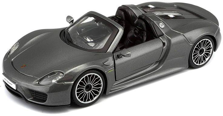 Der Spielzeugtester hat das Bburago 15621076 – Porsche 918 Spyder angeschaut u… – Spielzeugtester
