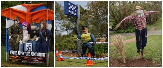 More Scarecrows at Mount Tamborine Scarecrow Festival this weekend!