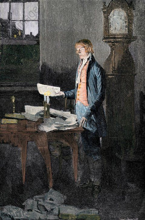 writing the declaration of independence John adams describes the writing of the declaration of independence.