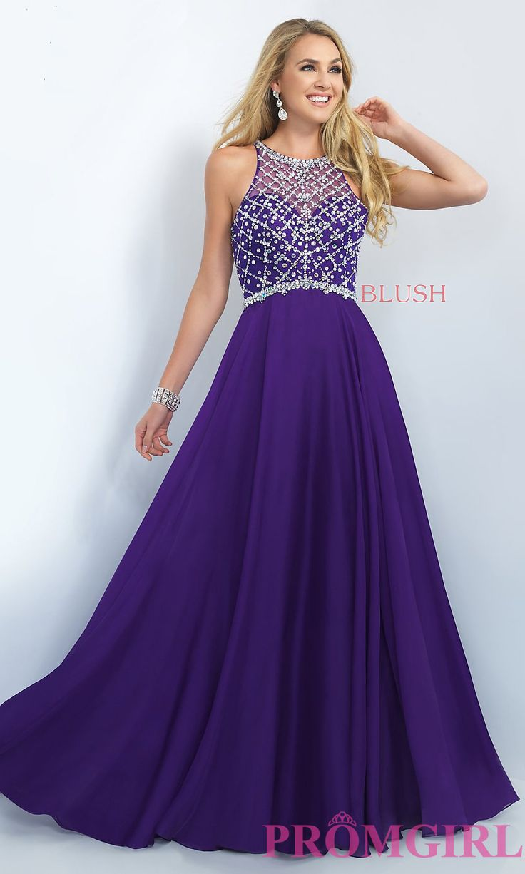 Tacky Prom Dresses Purple