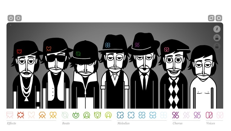 Incredibox (www.incredibox.com) is a simple and very intriguing online music sequencer that builds tracks from a selection of voice samples.