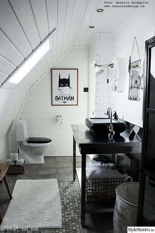 badrum,blandare,svart och vitt,inredning,batman