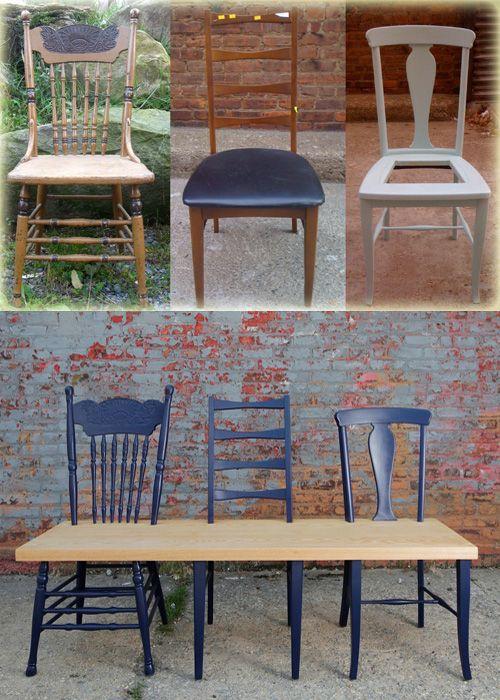 M s de 1000 ideas sobre sillas viejas en pinterest for Reciclar estanterias viejas