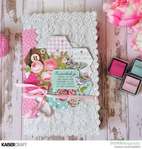 4 Creative Layouts using Kaisercraft Specialty Papers