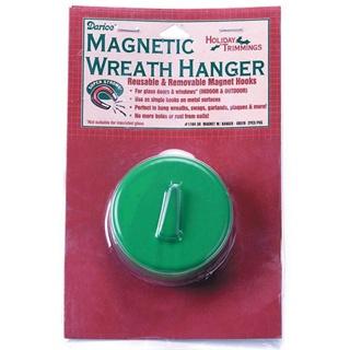 Magnetic Wreath Hanger-Green
