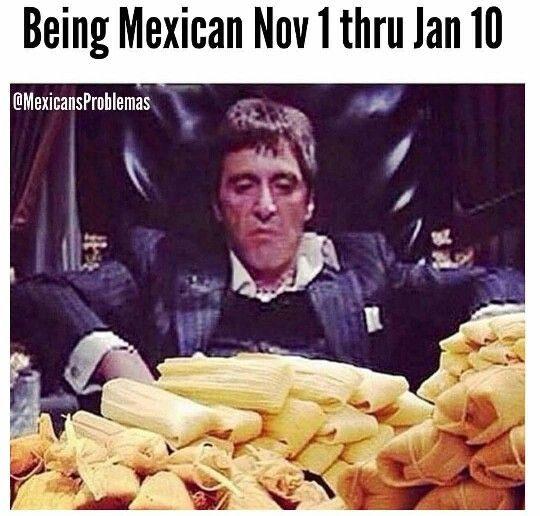 Mexican humor, tamales