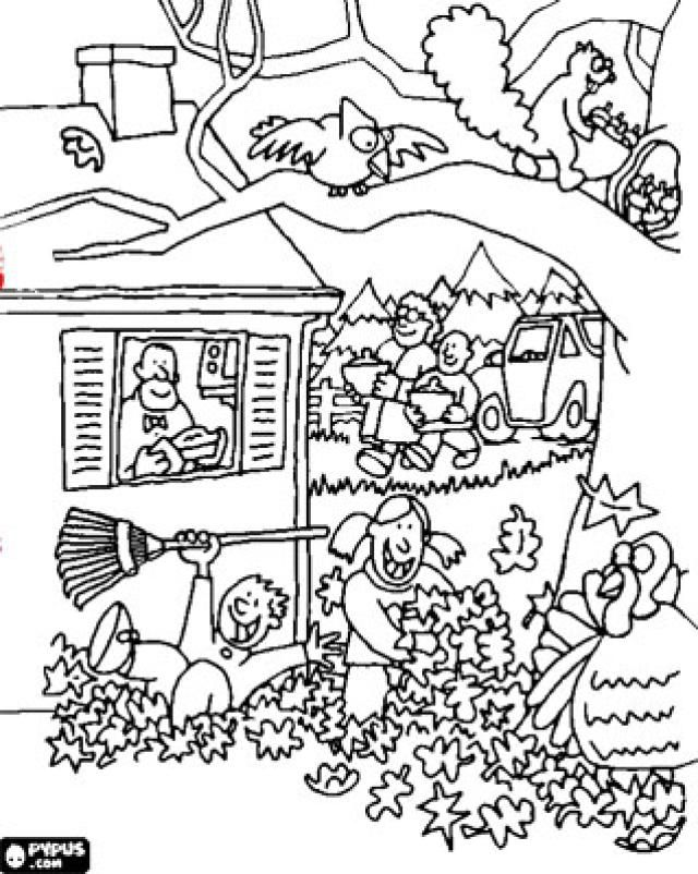Your Kids Will Love This Huge List of Autumn and Fall Coloring Pages: Free Fall Coloring Pages at OnColoring.com