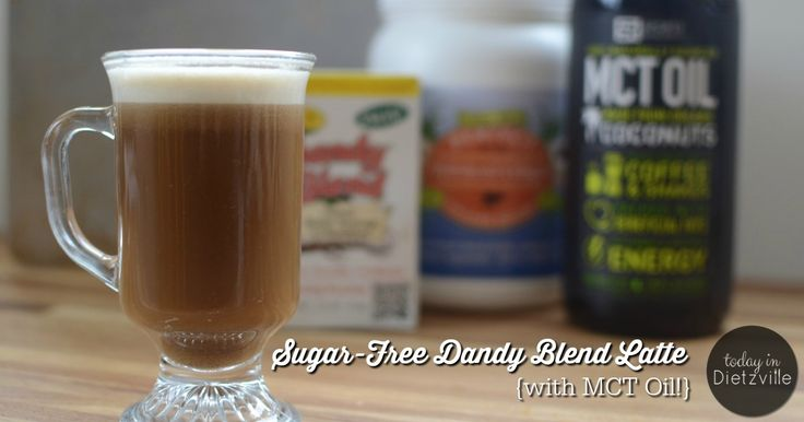 "Dandy Blend, an herbal coffee substitute, is full of liver-loving dandelion root and chicory, yet has no caffeine or acidity. By adding collagen, maca powder, and healthy fats, and then blending, I'm left with a dairy-free, sugar-free ""latte"" that's delicious and has no ill side effects!"