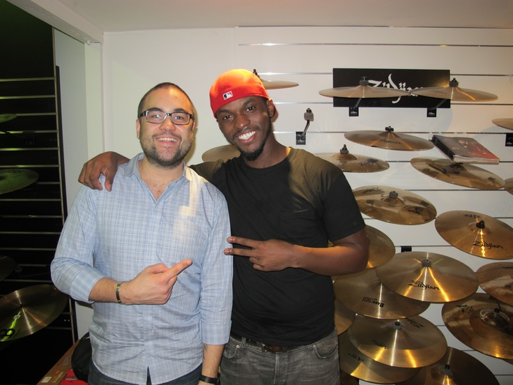 Rashid Williams who has toured with such names as John Legend, Eric Roberson and N.E.R.D visits Revolver Drums