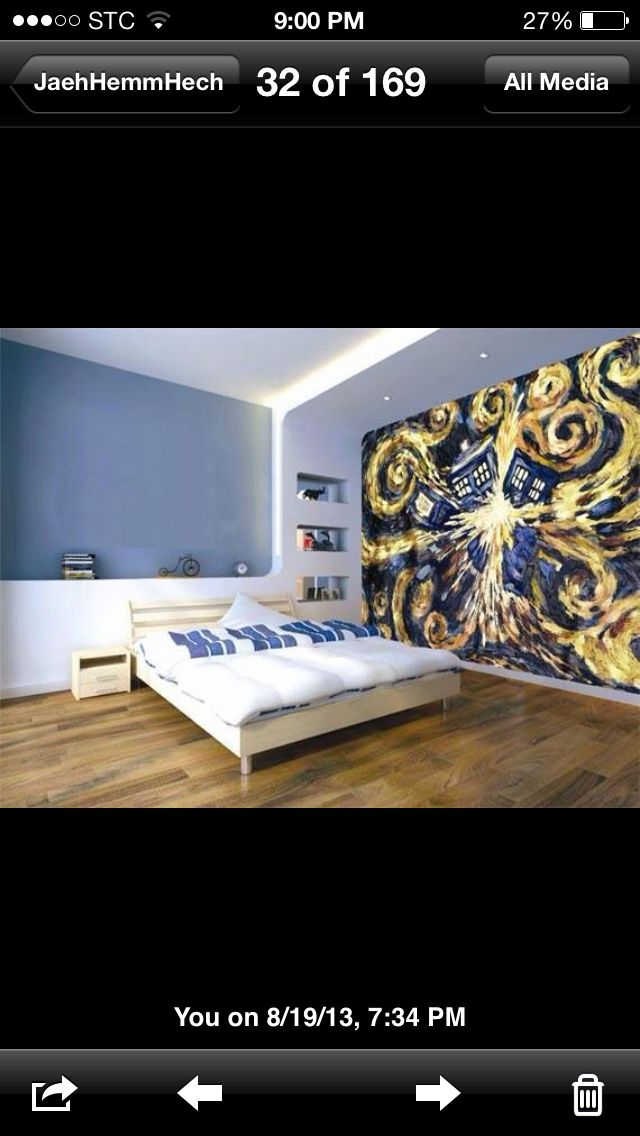 Dr Who Themed Room Awesom Dr Who Pinterest Dr Who Themed Rooms And Murals