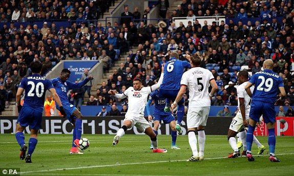 Leicester City chính thức trụ hạng sau chiến thắng 3 sao - Ảnh 5.