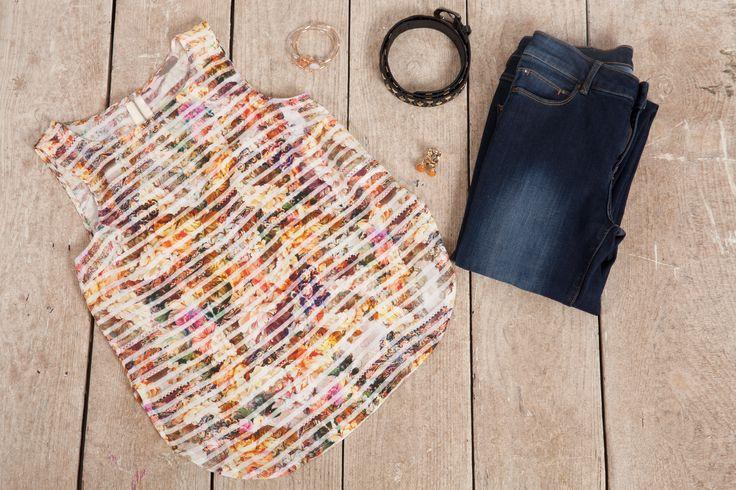 Top viscosa. #thecolorsoup #colors #outifit #diy #handmade #pattern #fabrics