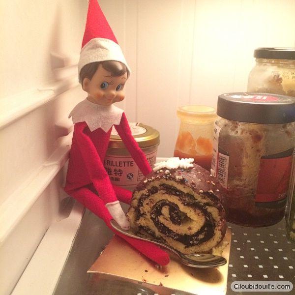 Le lutin de Noël déniché par Ciloubidouille