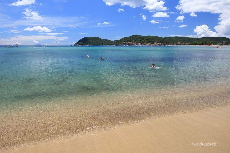 Spiaggia di Marina di Campo su http://www.aisoladelba.it
