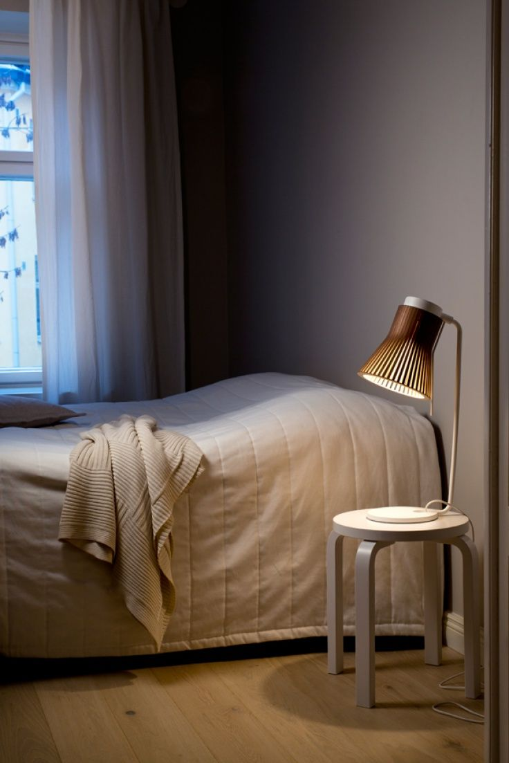 Our new Petite 4620 table light in a Helsinki home. Photo by Uzi Varon.