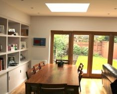 House Extension with Flat Roof in Mortlake, SW London
