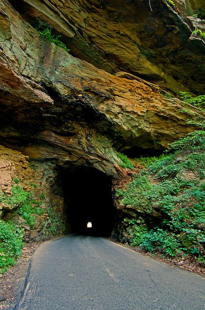 Nada Tunnel ~ Red River Gorge, Kentucky