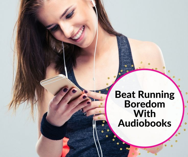 Beat running boredom with audiobooks from Audible, Inc. Download your favorite book and running will be fun! I get excited for my next run, just so I can find out what happens next in my book. #ad