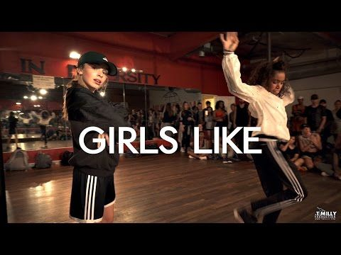 Tinie Tempah - Girls Like ft Zara Larsson - Choreography by Eden Shabtai - Filmed by @TimMilgram - YouTube