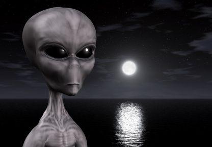 Întâlnire cu doi extratereştri